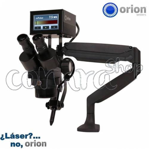 Soldador Orion mPulse 30 Micro-Tig. Mounted