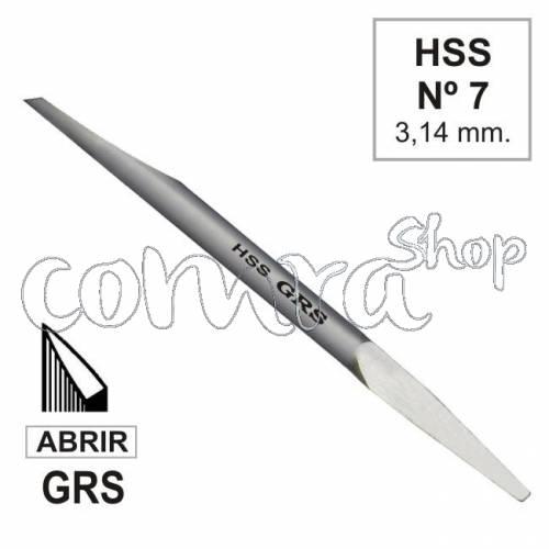 Buril HSS Abrir Nº 7, GRS 022-607