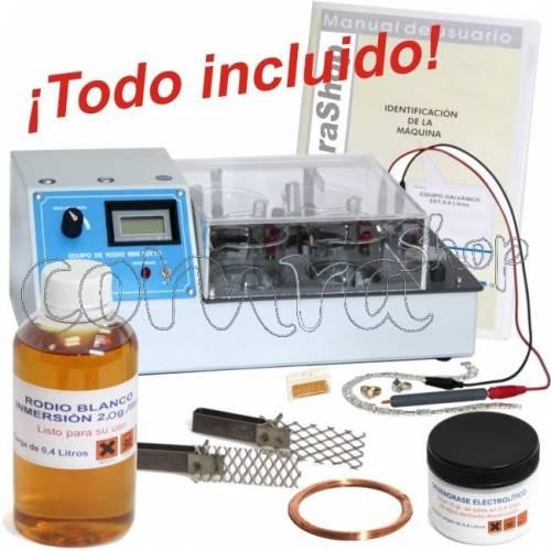 SET Equipo de Rodio 0 d7586c62051d