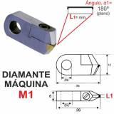 Diamante Maq. Plano 180º - 2,00 mm.