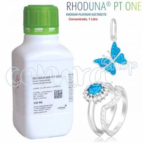 Baño de Rodio Rhoduna PT One, 1 Litro