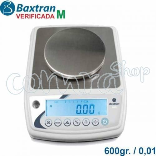 Balanza Verificada 600gr./ 0,01gr. BAR600M