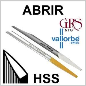 Buriles HSS Abrir