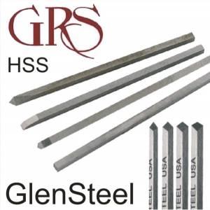 GRS GlenSteel Gravers Buriles de Acero HSS