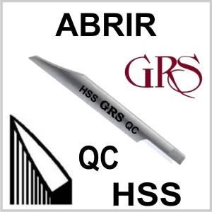 Buril HSS Abrir QC, GRS