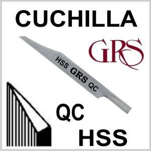 Buril HSS Cuchilla QC, GRS