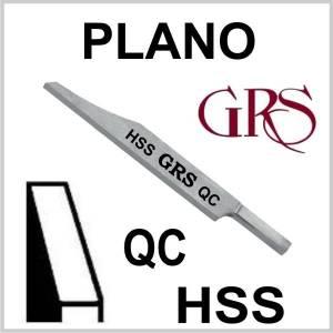 Buril HSS Plano QC, GRS